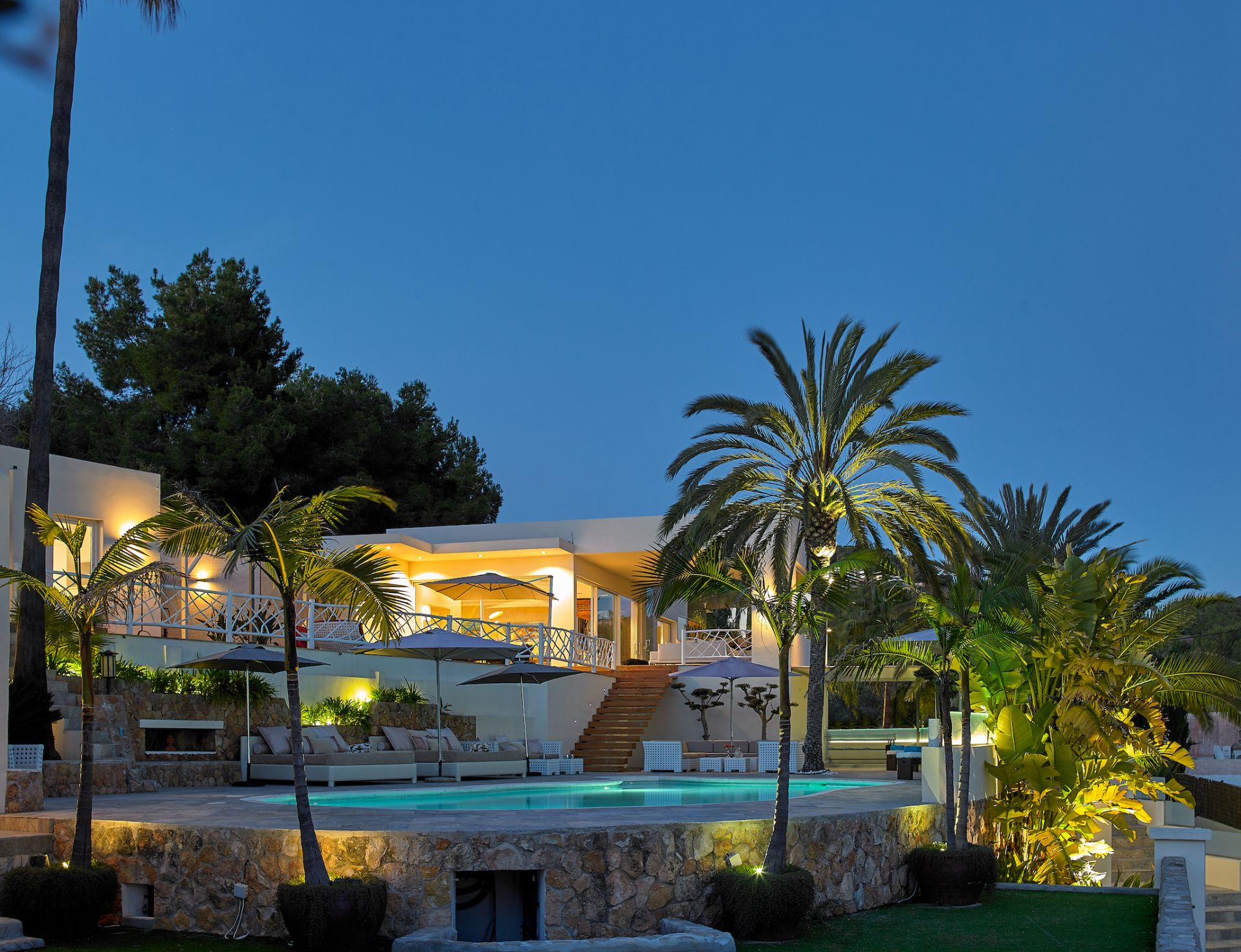 Ibiza, 5 Bedrooms Bedrooms, 10 Rooms Rooms,5 BathroomsBathrooms,Villa,Vacation Rental,1054