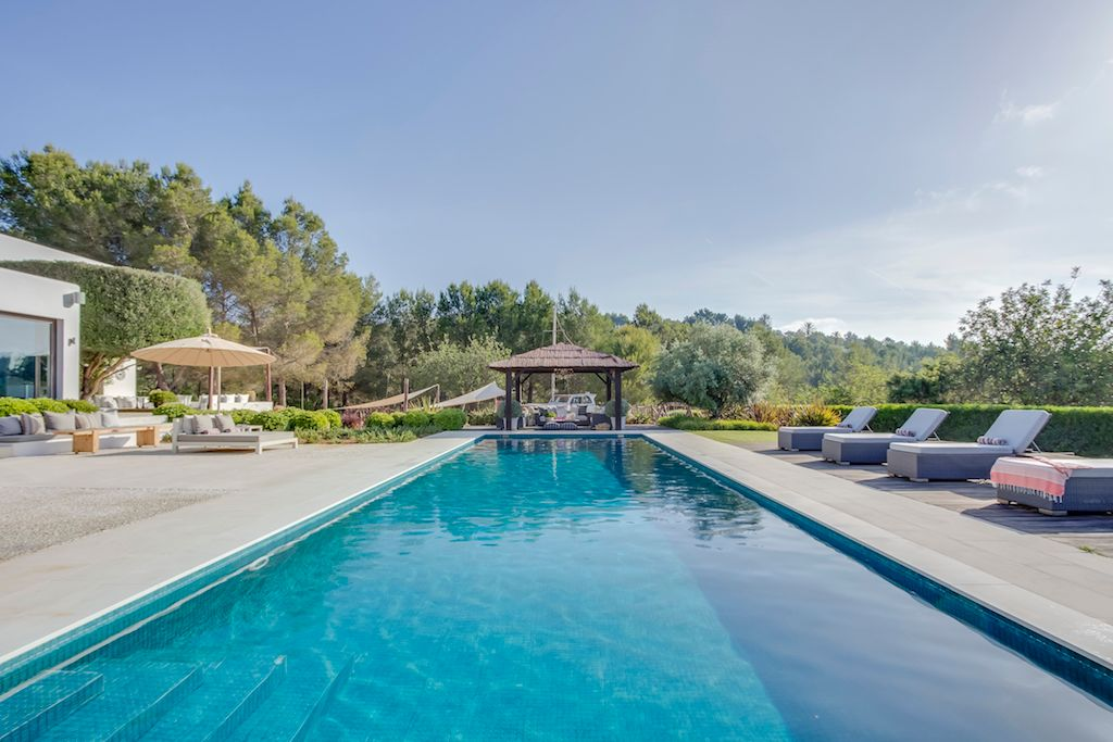 Villa Can Rio, 6 bedroom luxury villa in Ibiza,  luxury villa between Santa Gertrudis and San Lorenzo, holiday villa, holiday home