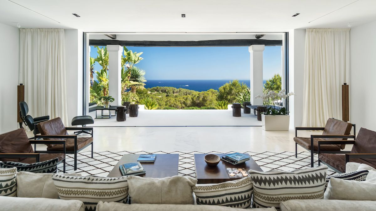 Luxury 6 bedroom villa near Ibiza town, luxury villa, ultramodern rental villa, rental property